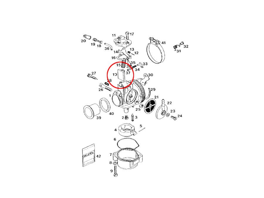 Looking for a Dellorto SHA throttle slide?