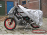 Moped protective cover