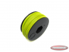 Electric cable yellow a metre