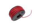 Electrisch draad rood per meter