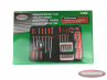 Complete set of screwdrivers in pouch 100-pieces