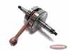 Crankshaft Puch MV, VS and Co. 2 speed manual / pedal shift full round CM