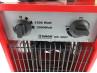 Robust metal ventilator heater 3000W