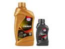 2-takt olie Eurol Formax + koppelings-olie ATF (mega-aanbieding!)