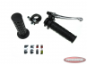 Shift lever 2 and 3 -speed Lusito black