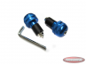 Handle bar damper kit blue round