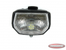 Headlight black square with switch LED!