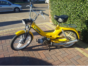 Yellow Puch Maxi S