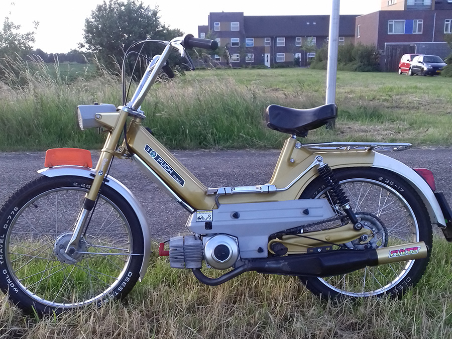 puch maxi snor tuning