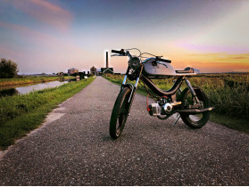 puch cafe-racer